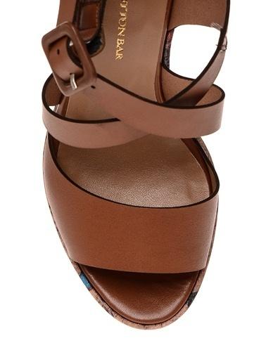 Cotton Bar Ayakkabı Taba
